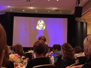 Amy Cuddy speaking about human behaviour